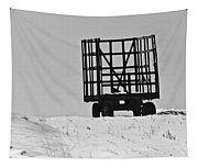 Farm Wagon Tapestry