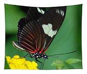Feeding Butterfly Tapestry