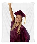 Female Graduate Tapestry