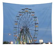 Ferris Wheel At Virginia Beach Tapestry