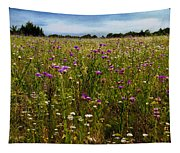 Field Of Thistles Tapestry