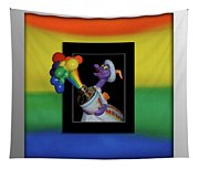 Figments Rainbow Of Colors Tapestry
