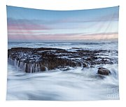 Filey Brigg Waves Tapestry