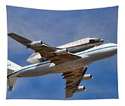 Final Flight Endeavour Tapestry