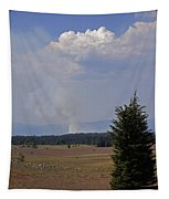Fire In The Cascades Tapestry