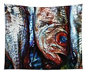 Fresh Fish At The Market Tapestry