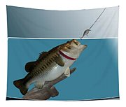 Fish Mount Set 13 D Tapestry