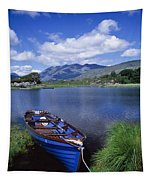 Fishing Boat On Upper Lake, Killarney Tapestry