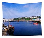Fishing Harbour, Dunmore East, Ireland Tapestry