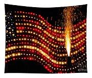 Flag On Tapestry