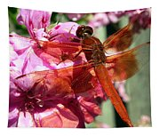 Flame Skimmer Dragonfly Tapestry