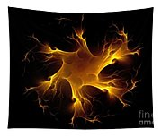Flame Wheel Tapestry