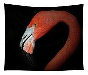 Flamingo Portrait Tapestry