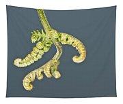 Flashlit Fern Tapestry