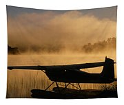 Float Plane, Long Lake, Sudbury, Ontario Tapestry