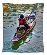 Floating Market Tapestry