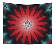 Floral Geometric 102311a Tapestry