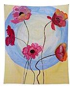Floral Orb Tapestry