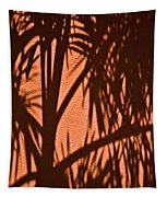 Florida Palm Shadow Tapestry