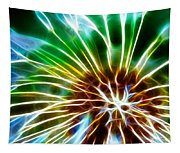 Flower - Dandelion Tears - Abstract Tapestry