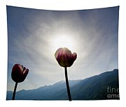 Flower And Sun Tapestry