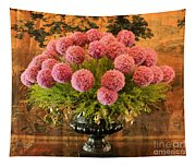 Flower Arrangement Chateau Chenonceau Tapestry