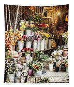 Flower Shop Tapestry
