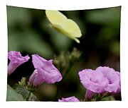 Flowers And Butterfly Tapestry