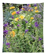 Flowers In Charlottenburg Palace Garden Tapestry