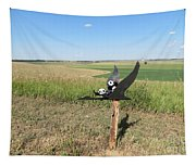 Flying Baby Pandas. North Dakota. Tapestry