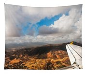 Flying Over Spanish Land IIi Tapestry