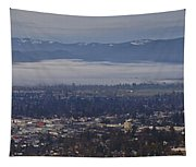 Fog Over A Grants Pass Morning Tapestry