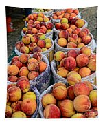 Food - Harvested Peaches Tapestry