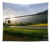 Football Goal Tapestry