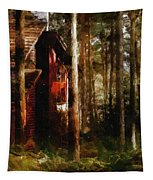 Forest In Fall Tapestry