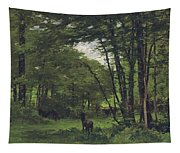 Forest Of Fontainebleau Tapestry