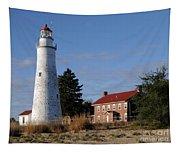Fort Gratiot Lighthouse Tapestry