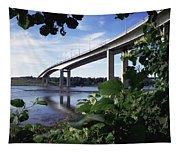 Foyle Bridge, Derry City, Co Tapestry