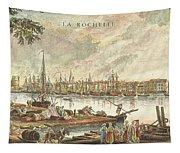 France: La Rochelle, 1762 Tapestry