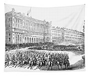 France: Revolution Of 1848 Tapestry
