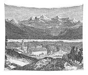 France: Spa, 1856 Tapestry