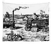 France: Steam Threshing Tapestry
