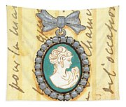 French Cameo 1 Tapestry