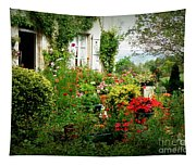 French Cottage Garden Tapestry