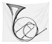 French Horn Tapestry