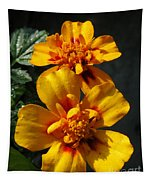 French Marigold Named Starfire Tapestry