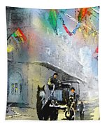 French Quarter In New Orleans Bis Tapestry