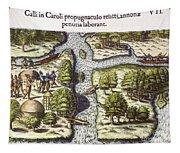 French: Sth. Carolina, 1562 Tapestry