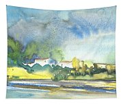 French Village 01 Tapestry