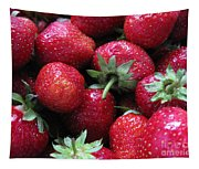 Fresh Strawberries Tapestry
